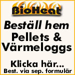 Bestll hem Dina pellets och vrmeloggs frn BioHeat hr.